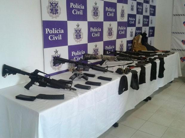 Material de quadrilha que aterrorizou Conde é encontrado (Foto: Divulgação/PC)