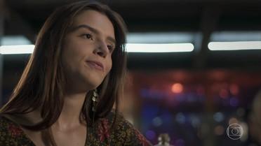 Milena não admite que Vittorio tenha uma namorada