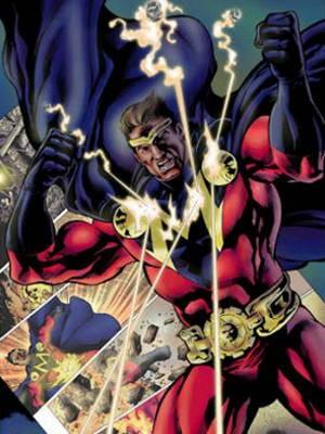 Maximus, herói de histórias em quadrinhos criado pelo paraense Alan Yango. (Foto: Evandro Santos/G1)