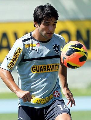Lodeiro treino Botafogo (Foto: Cezar Loureiro / Agência O Globo)