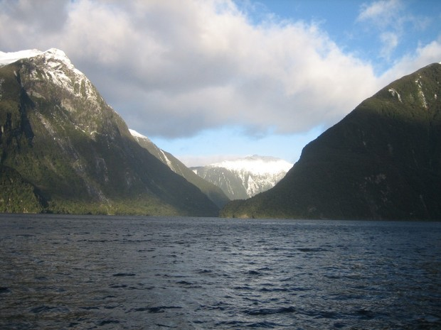 Fiorde localizado na região de Fiordland, na Nova Zelândia (Foto: Candida Savage/Nature Geoscience)