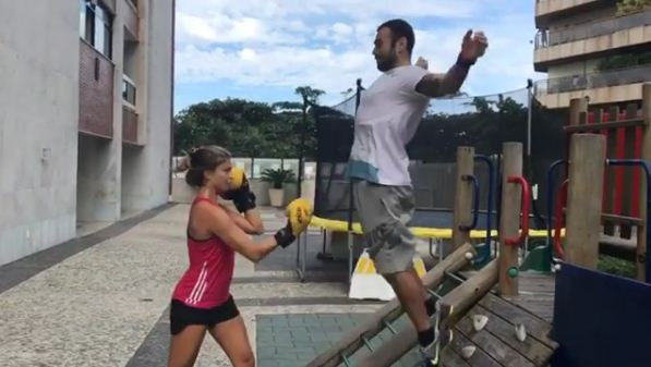 Grazi Massafera e Chico Salgado (Foto: Reprodução/ Instagram)