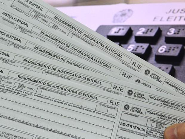 Justificativa de ausência de voto pode ser realizada em um cartório eleitoral (Foto: Cleber Akamine/G1)