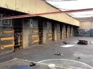 Celas do CDP de Taubaté que abriga mais que o dobro de sua capacidade (Foto: Divulgação/Justiça)