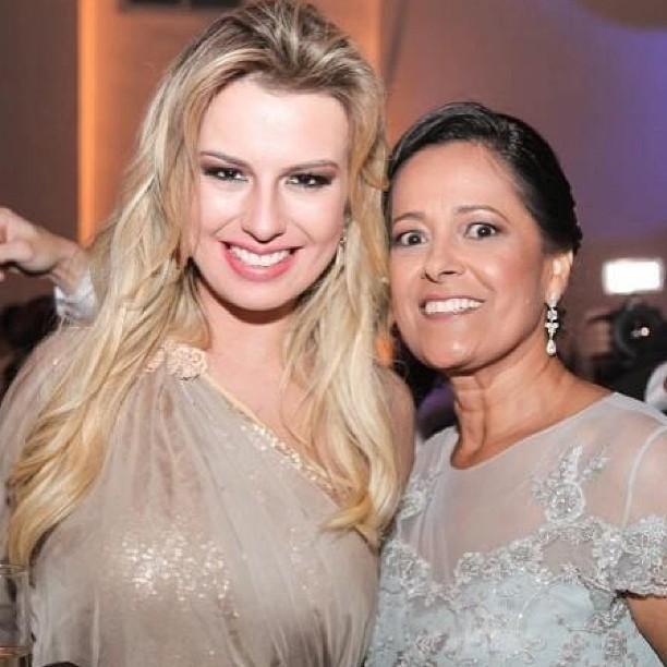 Fernanda Keulla e a sogra, Neide (Foto: Reprodução/Instagram)
