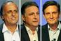 Pezão tem 37%, Garotinho, 27%, e Crivella, 20% (Alexandre Durão/G1)