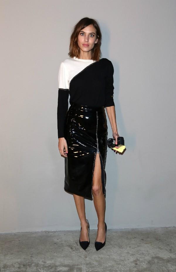 A modelo e apresentadora Alexa Chung (Foto: Getty Images)