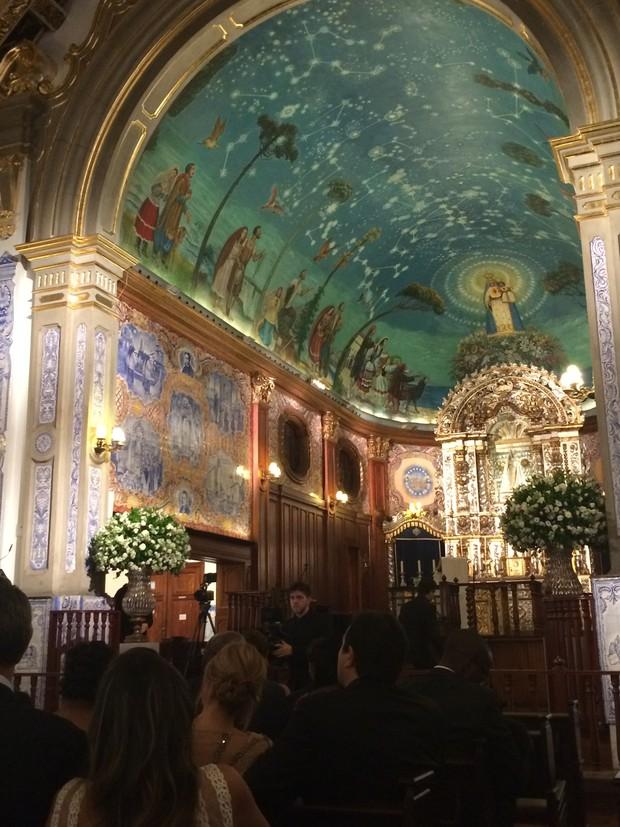 Igreja Nossa Senhora do Brasil (Foto: Ego)