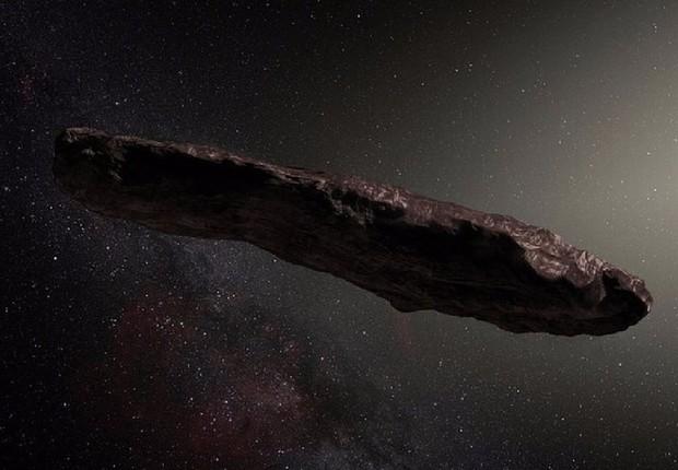 Учёные узнали, где образовался межзвёздный астероид Оумуамуа