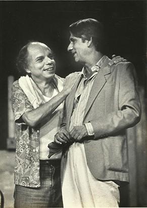 Rubens Corrêa e Ivan de Albuquerque, fundadores do Teatro Ipanema (Foto: Divulgação)