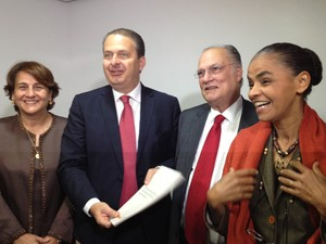Eduardo Campos Marina Silva Roberto Freire (Foto: Blog do Camarotti)