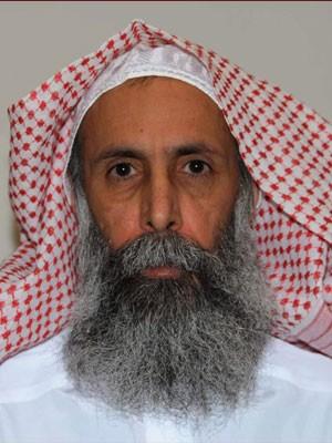 Clérigo xiita Nimr Baqir al-Nimr, uma importante figura do movimento de contestação contra o regime saudita, em foto de arquivo (Foto: Saudi Press Agency/ Reuters)