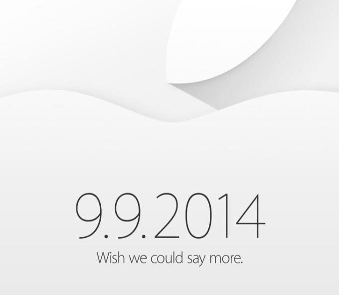 Apple confirma evento para o dia 9 de setembro (Foto: Reprodução)