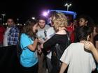 No RIR, Marília Gabriela é barrada em camarote: 'Me lixo para área VIP'