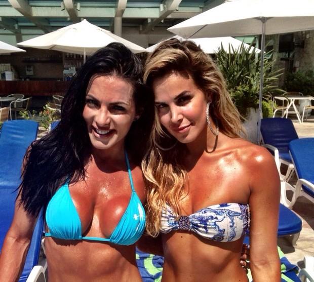 Carla Prata e Robertha Portela  (Foto: Divulgação)