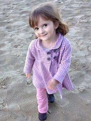 Julia Meurer morreu com suspeita de leishmaniose em MT (Foto: Arquivo pessoal)