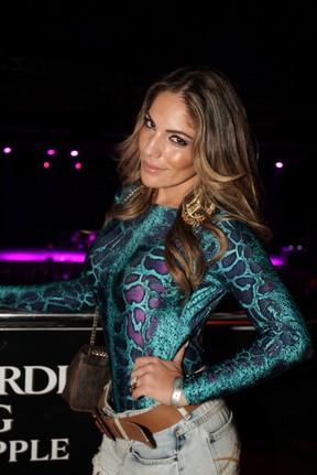 Ex-BBB Anamara em show no Rio (Foto: Udo Kurt/ Foto Rio News)