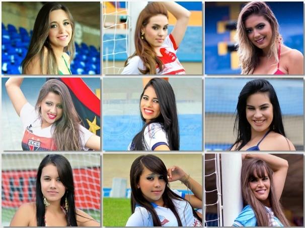 Candidatas Musa do Goianão 2014 (Foto: Divulgação)