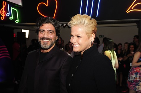 Junno Andrade e Xuxa (Foto: TV Globo/Estevam Avellar)