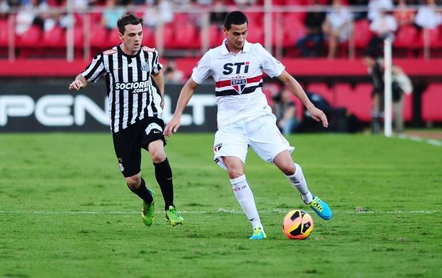 Ganso São Paulo x Santos (Foto: Marcos Ribolli / Globoesporte.com)