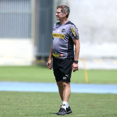 Treino Botafogo Oswaldo De oliveira (Foto: Satiro Sodré / SSPress)