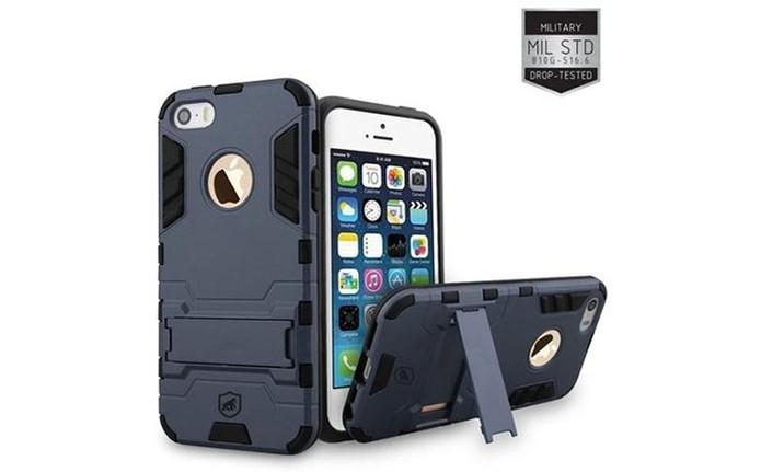 Proteção resistente para iPhone SE com case anti-impacto (Foto: Divulgação/GorilaShield)