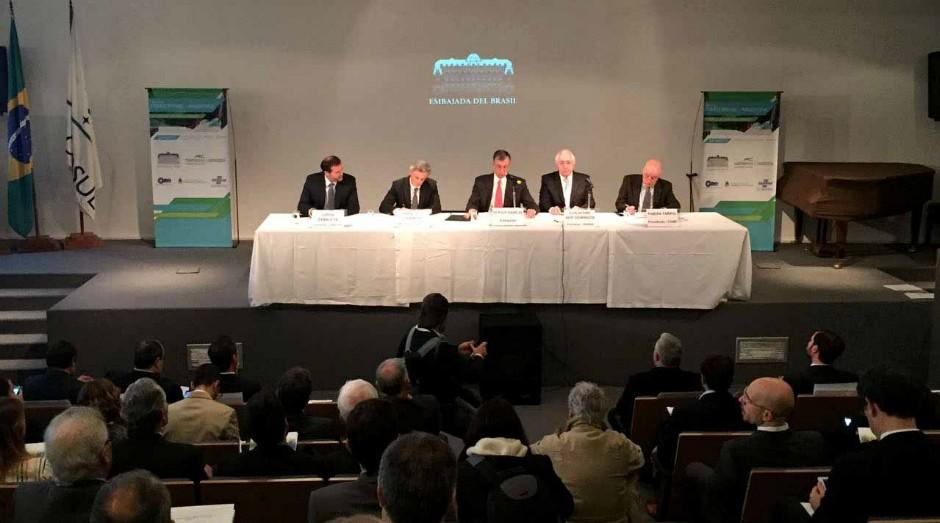 Na Argentina, Guilherme Afif participa do Seminário Pymes Brasil-Argentina: Simplificación de Nuestro Comercio (Foto: Divulgação)