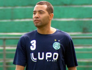 Wellington Monteiro, volante do Guarani (Foto: Reprodução / EPTV)