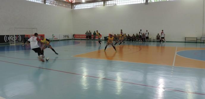 Treino Sorocaba Futsal - Temporada 2015 (Foto: Emilio Botta)