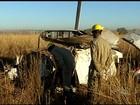 Passageiro que morreu em queda de avião é colombiano, diz polícia