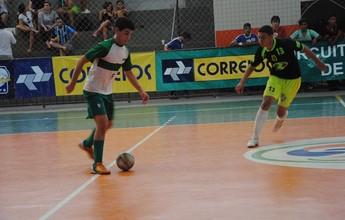 Pedro Afonso fica no grupo 14 da Copa do Brasil de futsal