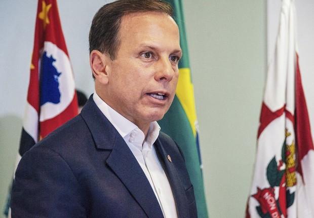 O prefeito de São Paulo, João Doria (PSDB) (Foto: Cesar Ogata/SECOM)