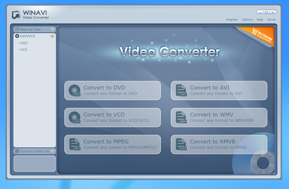 screenshot de WinAVI Video Converter