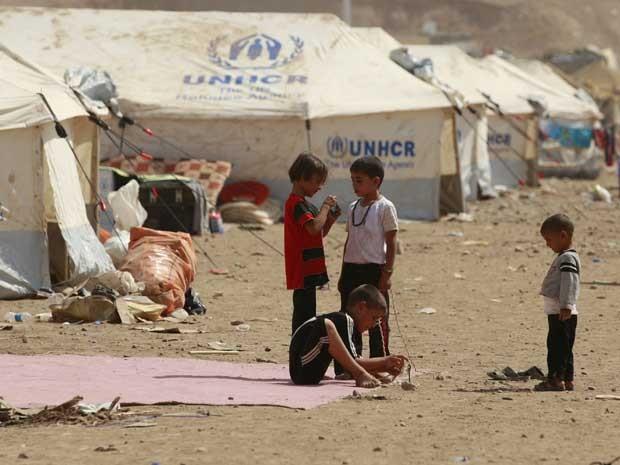 Resultado de imagem para refugiados crianças