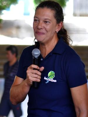 Ana Moser, ex-atleta, vôlei, seleção brasileira, Presidente Prudente (Foto: Taíne Correa / Sesc Thermas, Divulgação )