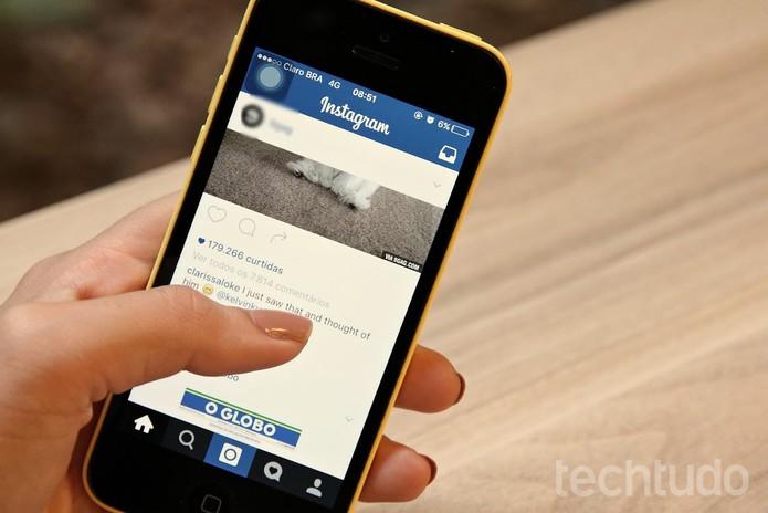 Novo algoritmo do Instagram vai mostrar posts por interesse, igual ao Facebook  (Foto: Luana Marfim/TechTudo)
