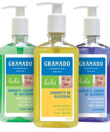 Sabonete Líquido de Glicerina: higieniza com praticidade (Foto: Divulgação)