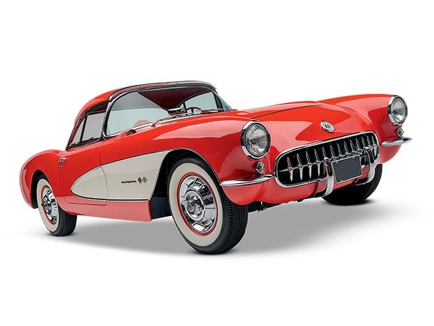 Chevrolet Corvette C1 – 1958 (Foto: Divulgação)