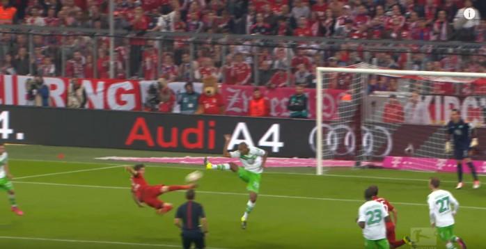 Lewandowski Bayern golaço Alemão