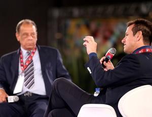 Dunga e Carlos Alberto Torres  (Foto: Jefferson Bernardes / Agência Preview)