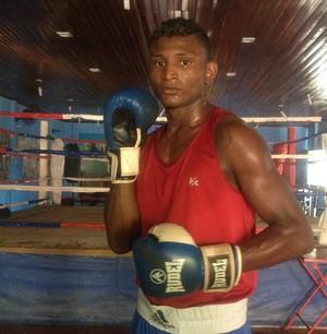 Jucelino Pantoja, três vezes campeão brasileiro de boxe  (Foto: Karol Aood/GE-AP)