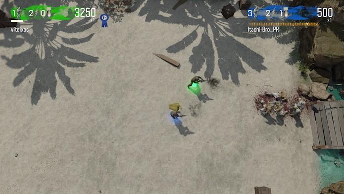 Modo Dead Ops 2 em terceira pessoa (Foto: Reprodução/Victor Teixeira)