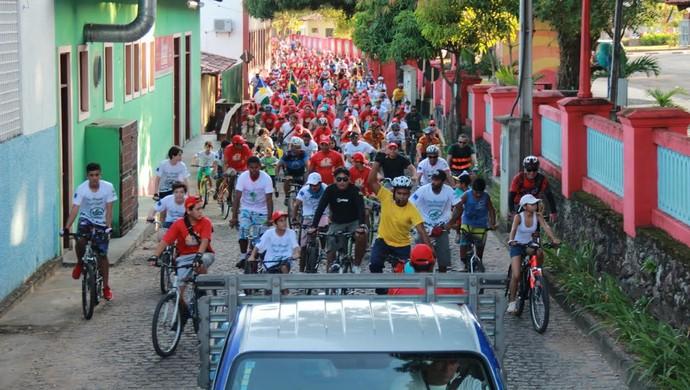 Ciclo Sesc percorre locais históricos de Boa Vista (Foto: Sesc-RR)