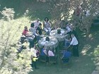Cunha faz churrasco de despedida para 50 pessoas na residência oficial