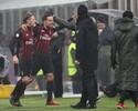 Milan vence o Torino com dois gols em três minutos e avança na Copa da Itália