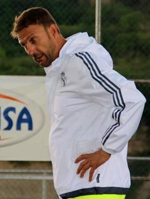 Manuel Aguado, técnico do Real Madrid (Foto: Divulgação)