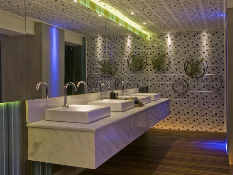 Banheiros e lavabos confira dicas de como deix los mais for Lavabos para restaurantes