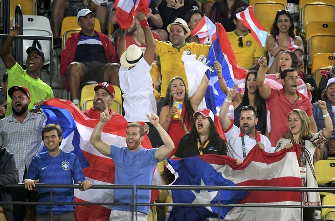 torcida costa rica tênis olimpíada (Foto: REUTERS/Kevin Lamarque)