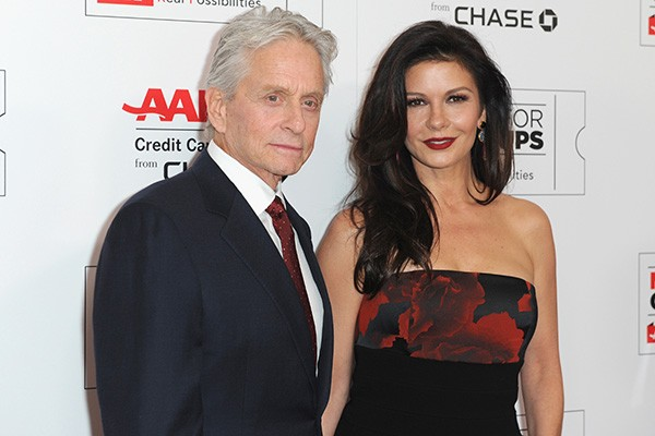 Michael Douglas e Catherin Zeta-Jones (Foto: Getty Images)