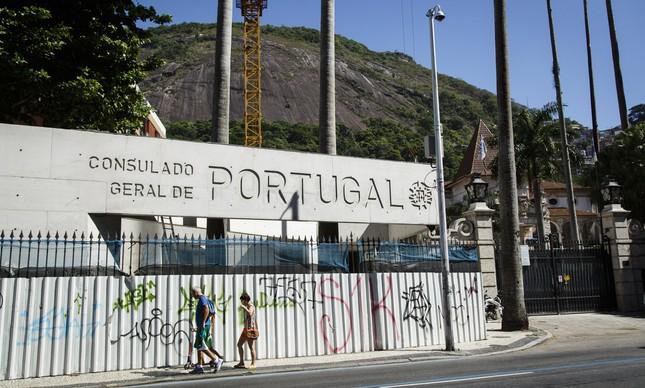 Obras são realizadas no Consulado Geral de Portugal no Brasil